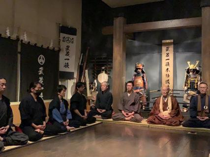 武蔵一族座禅会